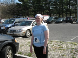 Right after my first 5K post surgery.