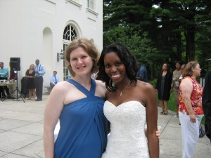 Me and one of my Best Friends at her wedding