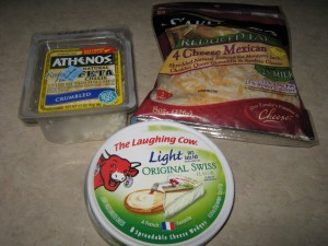 My cheese food stuff... yummy!