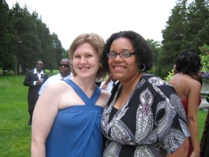 LeNissa and Me @ Teisha's Wedding.