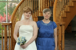 Me and Momma on my wedding day :-)