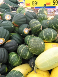 Pile of Assorted Squash