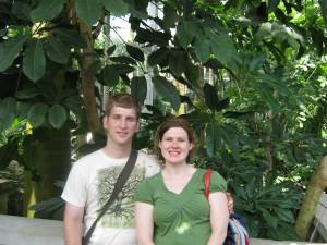Us in DC Botanical Gardens.