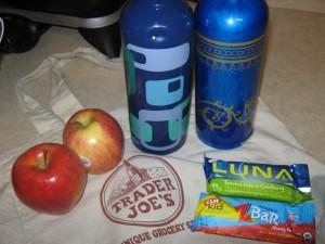 Emergency Snacks for tomorrow's trip.