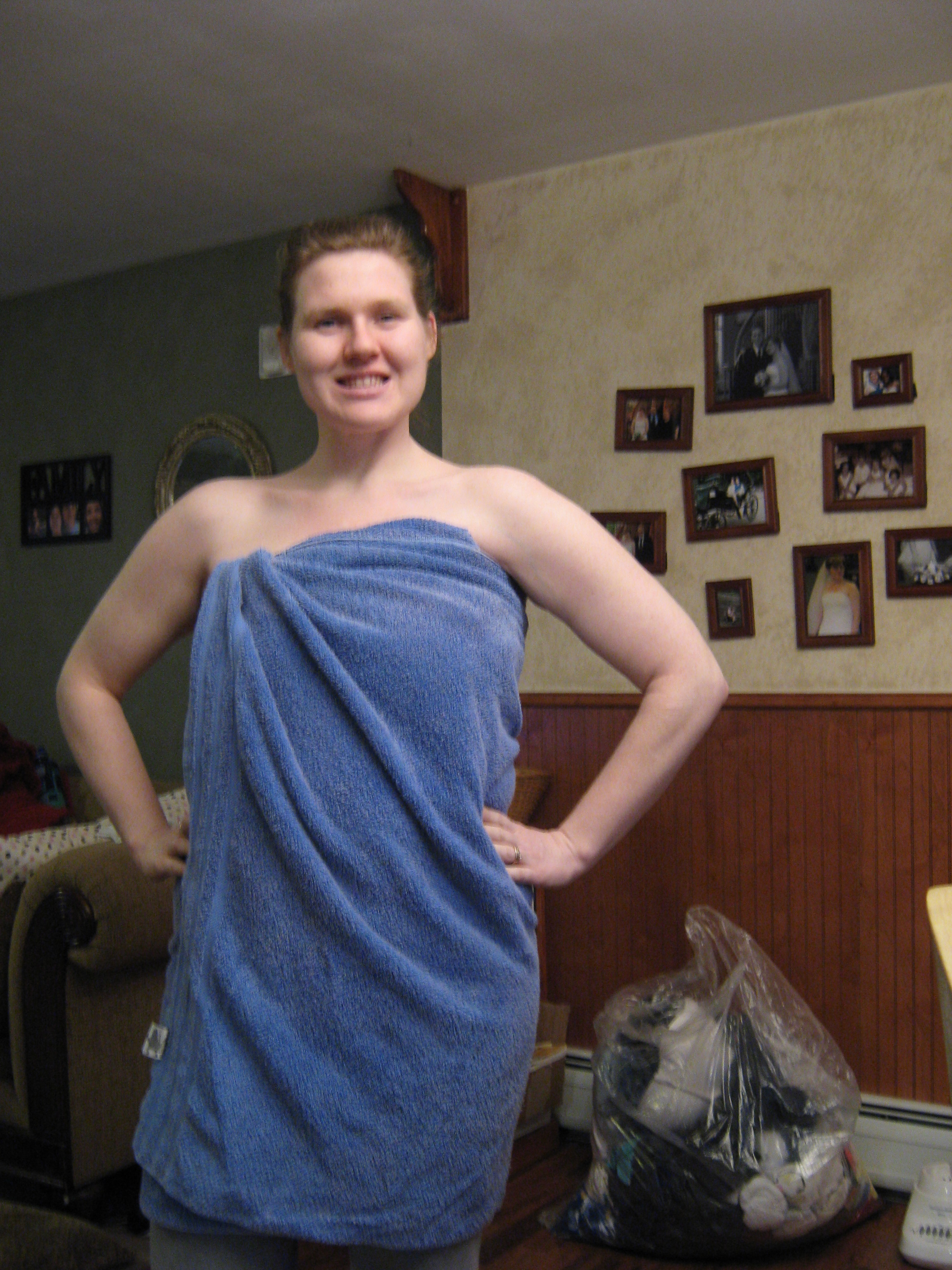 toweling off it all changes