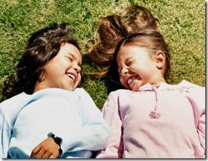 children laugh