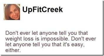 up fit creek