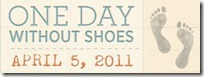 day without shoes